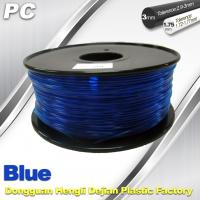 Wholesale Blue 3mm Polycarbonate Filament Strength With Toughness1kg / roll PC Flament from china suppliers
