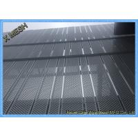 Wholesale Anti Skid Perforated Metal Mesh , Wire Mesh Flooring Punching Hole Nature Surface from china suppliers