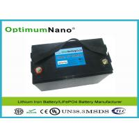 Wholesale Light Weight 100AH 12V Lithium Battery , Long Life Cycle MSDS LithiumPolymerBatteryPacks from china suppliers