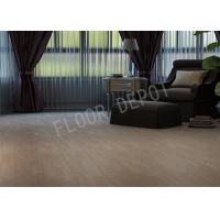 Wholesale AC4 HDF Bedroom Laminate Flooring , Waterproof Laminate Wood Flooring E1 Crystal V Groove Oak Color from china suppliers