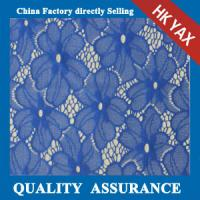Wholesale 2014 china factory cheap The Newest big flower jacquard heavy lace fabric in polyester for skirt from china suppliers
