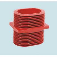 Wholesale Red Epoxy Resin Wall Insulated Bushing , Epoxy Resin Busbar Through Insulator from china suppliers