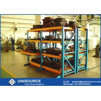 """Wholesale Roll Out Heavy Duty Racks For Warehouse , Adjustable Steel Storage Racks On 1"""" Centers from china suppliers"""