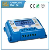 As MPPT Solar Controller st6-10 Solar controller 10A 12v / 24v with bule body with quick charge technology, for sale