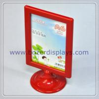 Wholesale Tabletop Poster Advertising Plastic Display Stand for Hotel from china suppliers