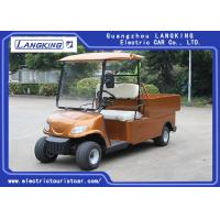 Wholesale 48V 2 Seater Farm Electric Utility Vehicle With Basket And Cargo Van from china suppliers