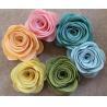 Promotional Beautiful Felt Flower Customer Design for sale