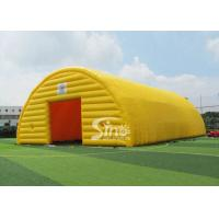 China 20x10 meters outdoor movable sports arena giant inflatable tent with 2 doors for sale