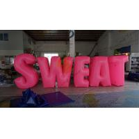 Wholesale Sweat Characters Inflatable Product Replicas Silk Screen Printing Excellent Design from china suppliers