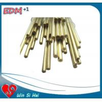 Wholesale EDM Brass multihole Elecytrode Tube  6.0x300mm for EDM Drilling Machine from china suppliers