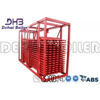 China Optimize Economizer Coil For High Performance Red Bare Tube Type with Coal for sale