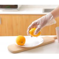 Wholesale Plastic Large Polyethylene Disposable Gloves For Food Cooking  Smooth Surface from china suppliers