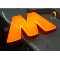 Wholesale Custom Formed Lighted LED Plastic Sign Letters With Metal Returns from china suppliers