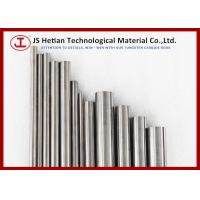 Bending Strength 4000 MPa Cemented Carbide Rods DIN Standard Chamfered , CO 10% , CO 12%