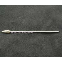 Wholesale Long shank 3mm G shape Tungsten file/ carbide burrs from china suppliers