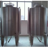 Wholesale Stainless Steel Milk Mixing Tank Jacketed Wall For Beverage Industry from china suppliers