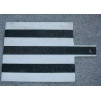 Wholesale Stone Cheese Cutting Board Black And White 35x25cm Food Safe Insulated from china suppliers
