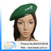 China 2015 new fashion french men wool beret hat on sale