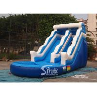 Wholesale 18' wave commercial kids inflatable water slide with EN14960 certified for summer parties from china suppliers
