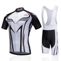 Wholesale Short Sleeve Custom Cycling Jersey White Color Breathable Fabric Vivid Patterns from china suppliers