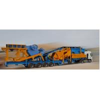 China Flexible Mining Rock Crusher Mobile Crushing And Screening Plant on sale