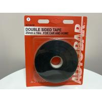 China Black EVA Foam Tape / Pvc Foam Tape Single Sided 1/8 Thick X 1/4 X 75 Ft for sale