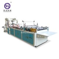Wholesale Slef-closing zipper bag making machine automatic polythene 12.8kw Power from china suppliers