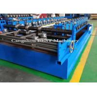 China Adjustable Portable Standing Seam Roll Forming Machine One Year Warranty for sale
