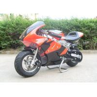 China Red Mini Gas Dirt Bikes 110cc , Electric Start Small Dirt Bikes Automatic Transmission on sale