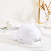 Wholesale Curve Brim Custom Twill Cotton White Dad Hat 6 Panel from china suppliers