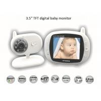 Wholesale 3.5 inch Digital Wireless Audio Video Baby Monitor from china suppliers