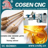 Wholesale Top quality ce certification cnc woodworking lathe for wood honey stirrer honey bar from china suppliers
