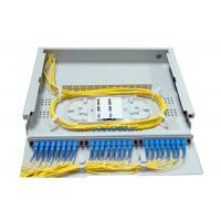Wholesale 1.4U SC LC Rack Fiber Patch Panel 24 48 Port Top Transparent Cover For Easy Observation from china suppliers