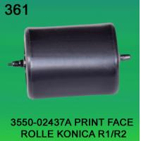 China 3550-02437A / 3550 02437A / 355002437A PRINT FACE ROLLER FOR KONICA R1,R2 minilab on sale