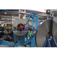China Straight Seam Steel Welding Pipe Mill Production Line Speed 15-30m / Min for sale
