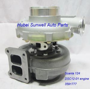 Scania 124 turbo 1423036 for DSC1201 engine Holset HX50 turbocharger 3591777