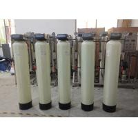 China 1000LPH Softener System Softening Hardness Removal With Cation Resin Boiler Use for sale