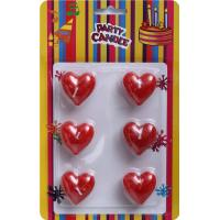 Wholesale Love Heart Shaped Candles Valentine's Candle (GYCE0132) from china suppliers