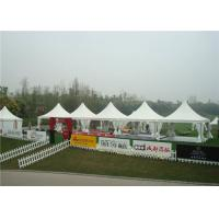 Wholesale Large Portable Outdoor Winter Party Tent High Peak 6 X 6m Pagoda 80km / H Wind Load from china suppliers