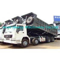 HOWO Manual 8x4 Dump Truck , 30 Ton International Dump Trucks