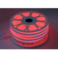 Wholesale Red 110V Flex LED Neon Tube Light 14mm * 26mm Size PVC Shell Material from china suppliers