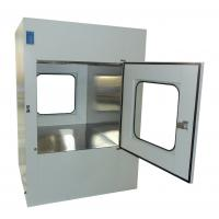 Wholesale Microelectronics Clean Room Air Shower Pass Box External Size 950X1100X1300mm from china suppliers