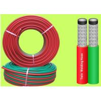 Best EN 559 1 / 4 Inch 100 M Rolls Grade R Twin Welding Hose For Gas Cutting wholesale