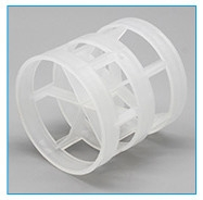 Buy cheap Cylindrical PP PVC PE CPVC Plastic Pall Ring Tower Packing from wholesalers
