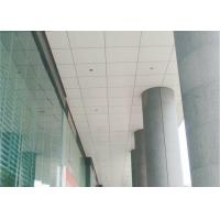 Wholesale railway station Perforated Lay In Ceiling Tiles Square With aluminum , 350mm * 350mm from china suppliers