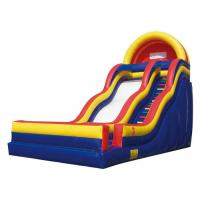 China Children Fun Colourful Large Inflatable Slide Fun Land For Summer Activity for sale
