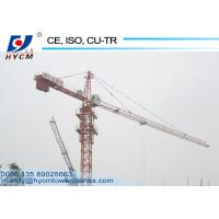 China 50m Working Range Tower Crane Price on sale