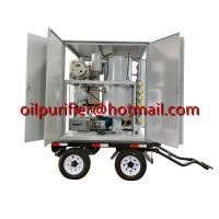 ZYD-M Mobile Trailer Transformer Oil Filtration Plant,movable insulation oil purifier with car wheels,Cable Oil purifier for sale
