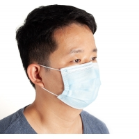 Buy cheap 3 Ply 99% BFE Dust Free Dental Antibacterial ESD Face Mask from wholesalers