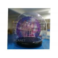 China Customized Giant Human Size Inflatable Snow Globe With Blower , Air Pump on sale